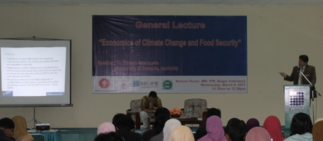 Economics of Climate Change and Food Security