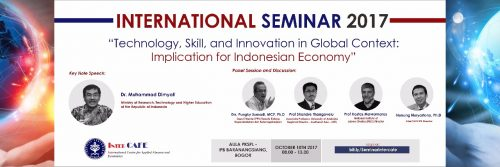 International Seminar 2017 by InterCAFE-LPPM IPB