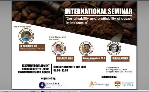 International Seminar of Cacao 2017