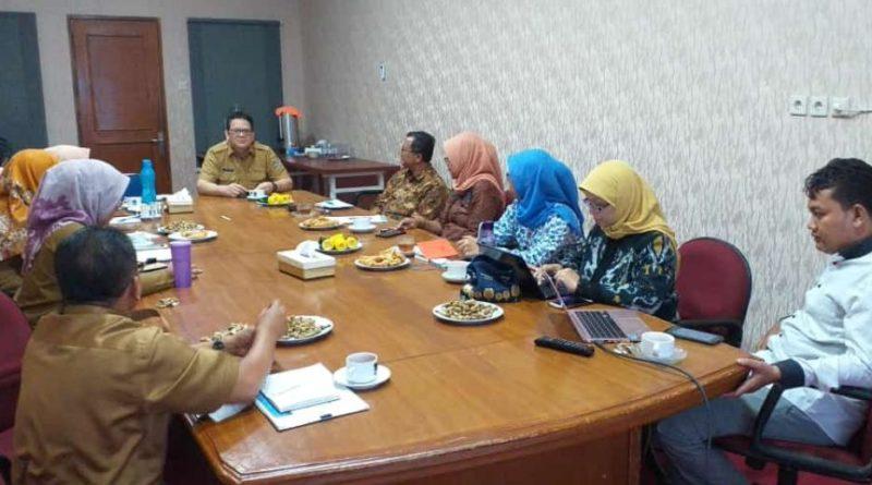 Audiensi dengan Bappeda Tangerang utk Inisiasi kwgiatan 2020 . Tanggerang 21 Januari 2020