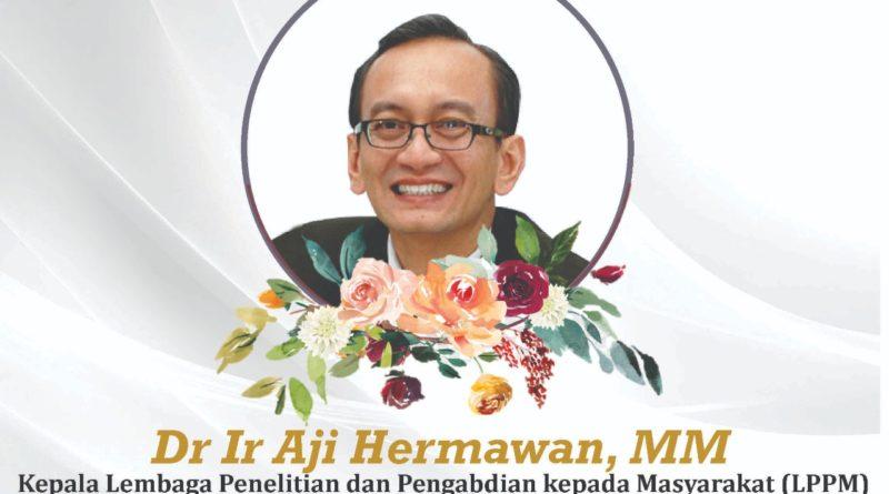 Ungkapan Bela Sungkawa atas Berpulangnya Dr. Ir Aji Hermawan, MSc