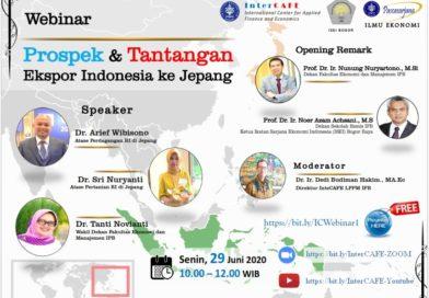 Webinar Prospek Dan Tantangan Ekspor Indonesia ke Jepang | InterCAFE-LPPM IPB