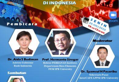 Webinar Efektifitas Kebijakan Moneter Masa Pandemi Covid-19 di Indonesia